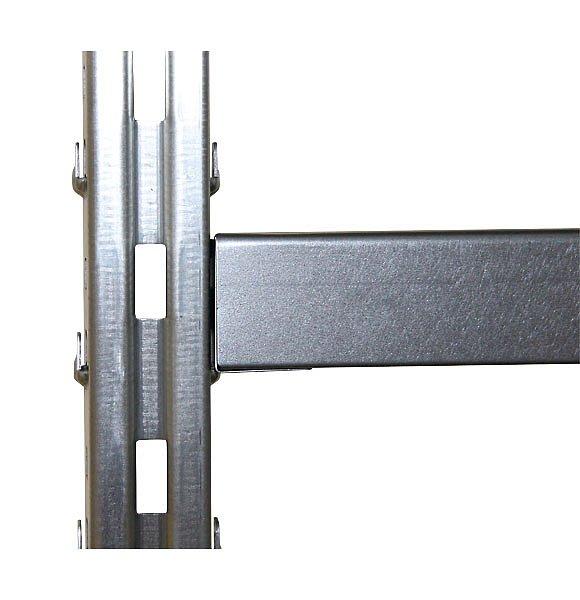 СТ-031 стеллаж металлический крепление полки к раме
