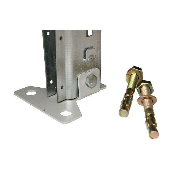 СТ-031 Стеллаж металлический стойка, подпятник и анкерные болты
