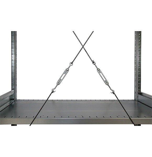 СТ-031 Стеллаж металлический раскосная система