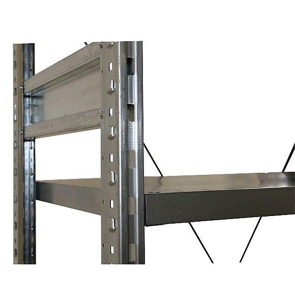 СТ-031 Стеллаж металлический стяжка рамы с торца стеллажа