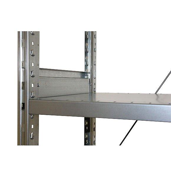 СТ-031 Стеллаж металлический стяжка рамы со стороны полки