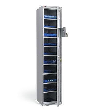 Вес: 41.  Шкаф металлический, разборный.  Шкаф имеет 10 ячеек.