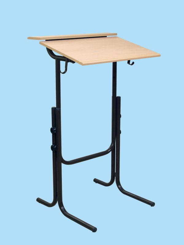 Стол аудиторный для работы стоя, регулируемый по высоте и углу наклона...